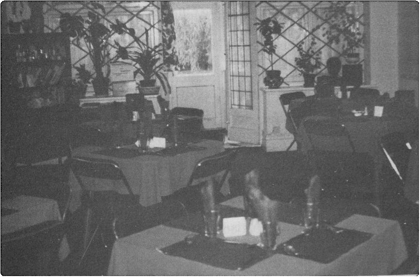 Jewish Vegetarian Society - The Members' Dining Room